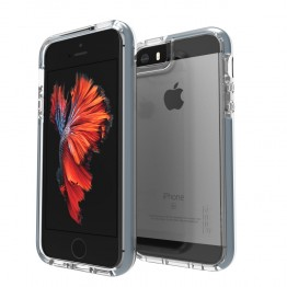 iPhone SE/5S/5 Coque Gear4 D3O PICCADILLY Gris