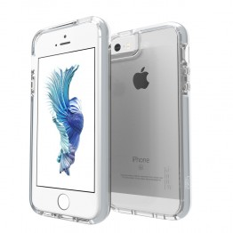 iPhone SE/5S/5 Coque Gear4 D3O PICCADILLY Argent