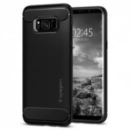Galaxy S8 Coque Spigen RUGGEDARMOR Noir