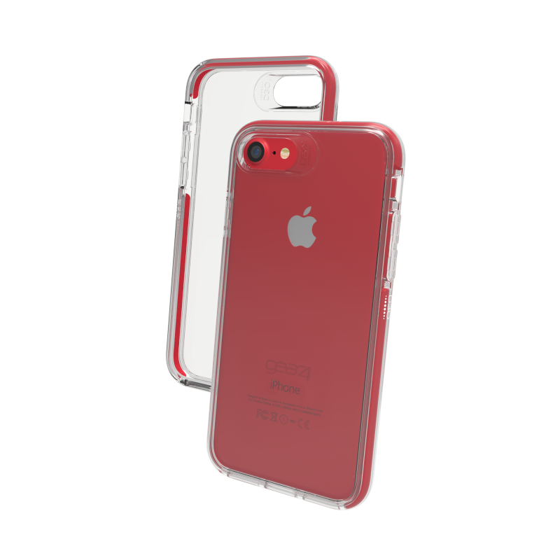iphone 7 coque gear4 black piccadilly rouge