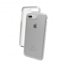 iPhone 8+/7+/6S+/6+ Coque Gear4 D3O PICCADILLY Argent