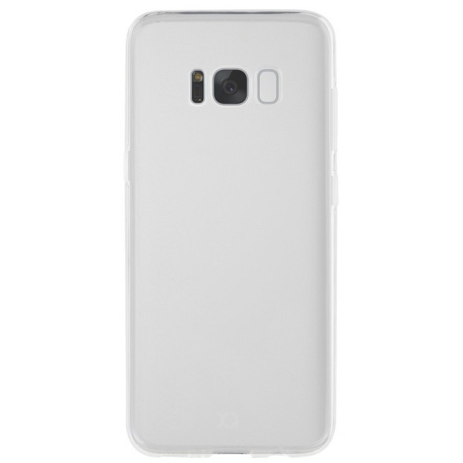 Galaxy S8 Coque Silicone Xqisit FLEXCASE Transparent