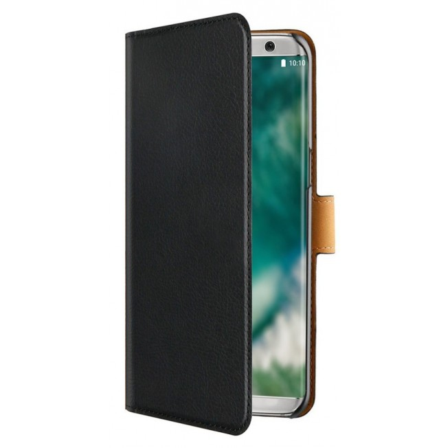 Galaxy S8 Etui Wallet Xqisit XQSELECTION Noir