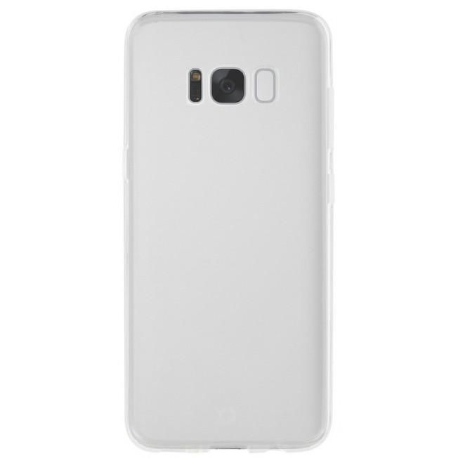 Galaxy S8+ Coque Silicone Xqisit FLEXCASE Transparent