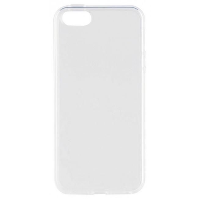 iPhone SE/5S/5 Coque Silicone Xqisit FLEXCASE Transparent