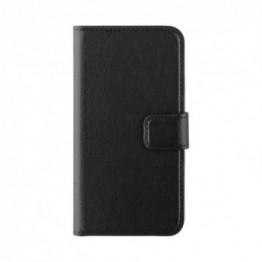 iPhone SE/5S/5 Etui Wallet Xqisit SELECTION Noir