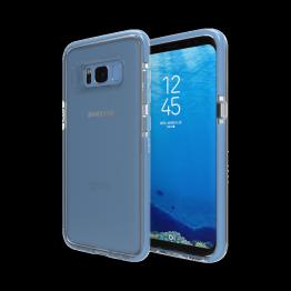 Galaxy S8 Coque Gear4 D3O PICCADILLY Bleu