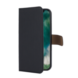 iPhone XS/X Etui Wallet Xqisit XQSELECTION Noir