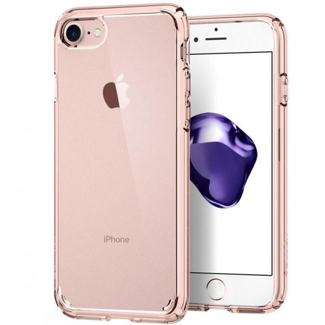 iPhone 8/7/6S/6 Coque Spigen ULTRAHYBRID 2 Rose