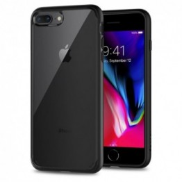 iPhone 8+/7+/6S+/6+ Coque Spigen ULTRAHYBRID 2 Noir