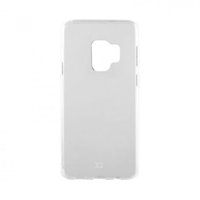 Galaxy S9 Coque Silicone Xqisit FLEXCASE Transparent