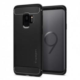 Galaxy S9 Coque Spigen RUGGEDARMOR Noir