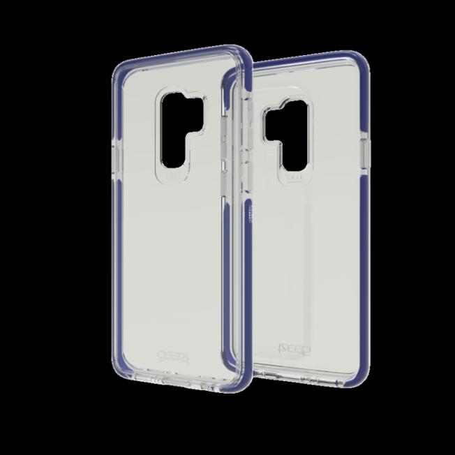 Galaxy S9+ Coque Gear4 D3O PICCADILLY Bleu