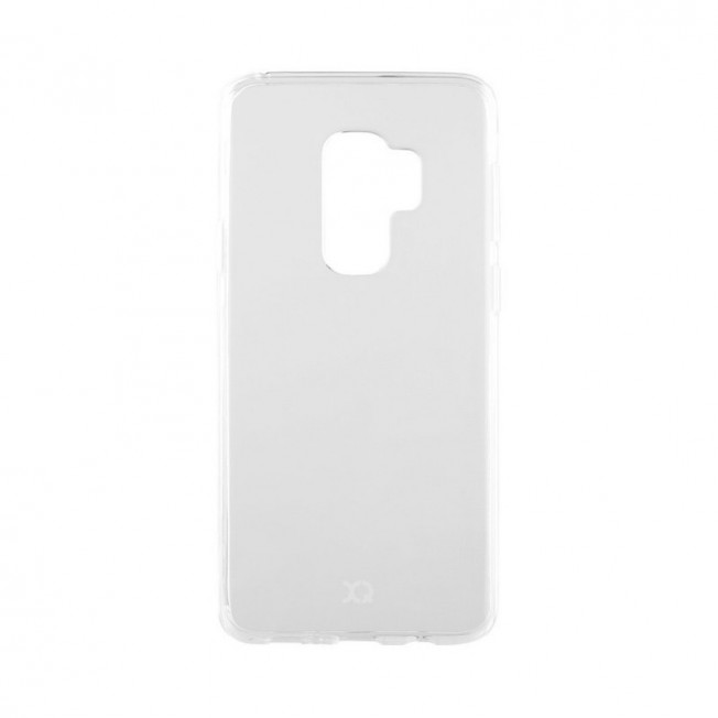 Galaxy S9+ Coque Silicone Xqisit FLEXCASE Transparent