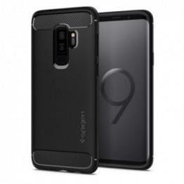 Galaxy S9+ Coque Spigen RUGGEDARMOR Noir