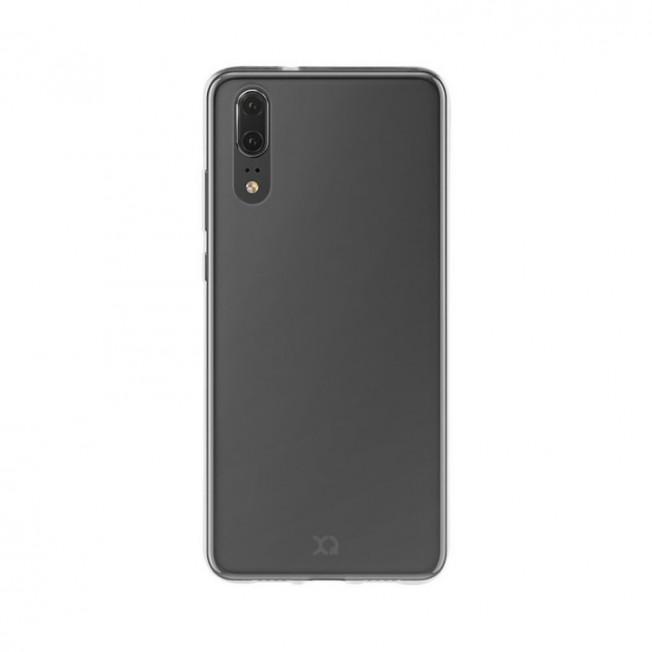 Huawei P20 Coque Silicone Xqisit FLEXCASE Transparent