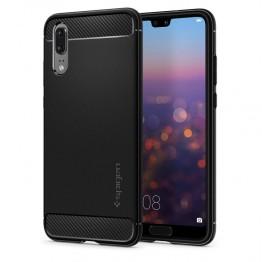 Huawei P20 Coque Spigen RUGGEDARMOR Noir