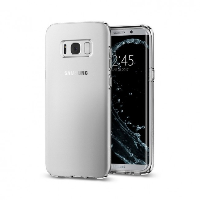 Galaxy S8 Coque Spigen LIQUIDCRYSTAL Transparent