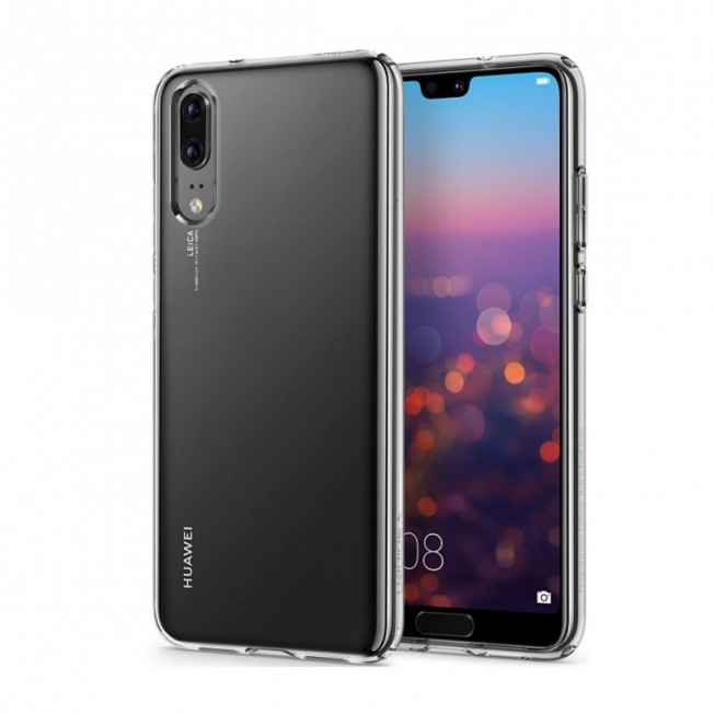 Huawei P20 Coque Spigen LIQUIDCRYSTAL Transparent