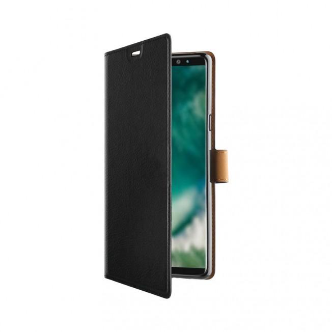 Galaxy N9 Etui Wallet Xqisit XQSELECTION Noir
