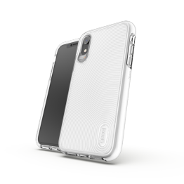 iPhone XR Coque Gear4 D3O BATTERSEA Blanc