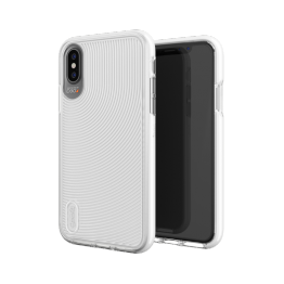 iPhone XS/X Coque Gear4 D3O BATTERSEA Blanc