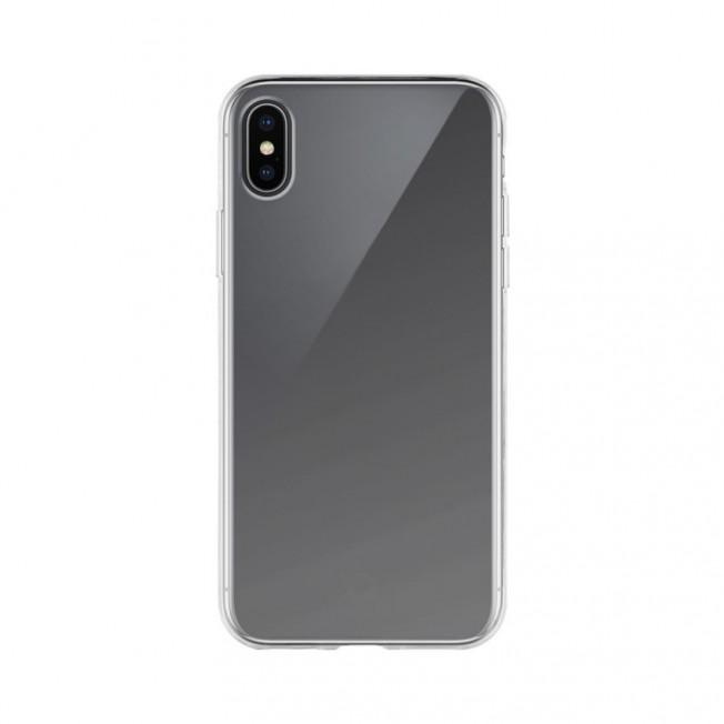 iPhone XS/X Coque Silicone Xqisit FLEXCASE Transparent