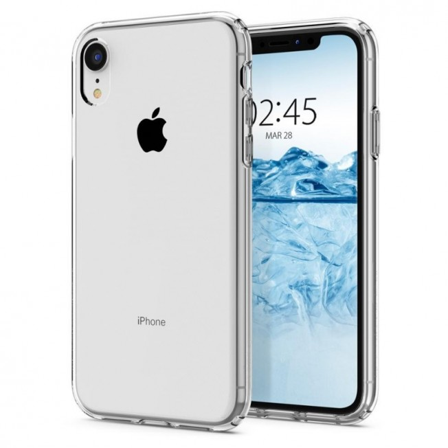 iPhone XR Coque Spigen LIQUIDCRYSTAL Transparent