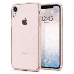 iPhone XR Coque Spigen LIQUIDCRYSTALGLITTER Rose