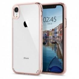 iPhone XR Coque Spigen ULTRAHYBRID Rose