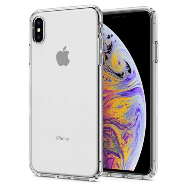 iPhone XS MAX Coque Spigen LIQUIDCRYSTAL Transparent