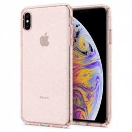 iPhone XS MAX Coque Spigen LIQUIDCRYSTALGLITTER Rose