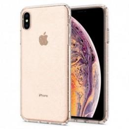 iPhone XS MAX Coque Spigen LIQUIDCRYSTALGLITTER Transparent
