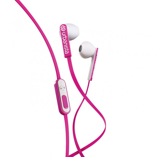 Casque EarPods Urbanista SANFRANCISCO Rose