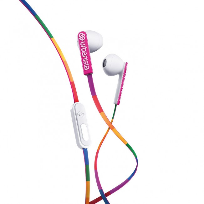 Casque EarPods Urbanista SANFRANCISCO Arc-en-Ciel