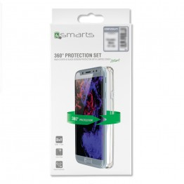 iPhone XS MAX Pack 4Smarts PROTECTION360 Transparent