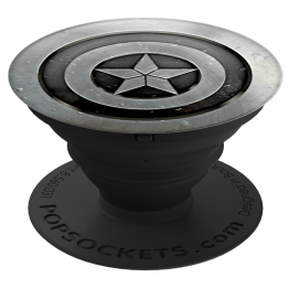 Grip PopSockets CAPTAINAMERICA Gris
