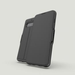 Galaxy S10 Etui Wallet Gear4 D3O OXFORD Noir