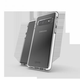 Galaxy S10 Coque Gear4 D3O PICCADILLY Blanc