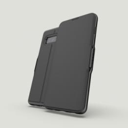 Galaxy S10+ Etui Wallet Gear4 D3O OXFORD Noir