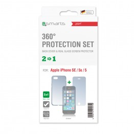 iPhone SE/5S/5 Pack 4Smarts PROTECTION360 Transparent