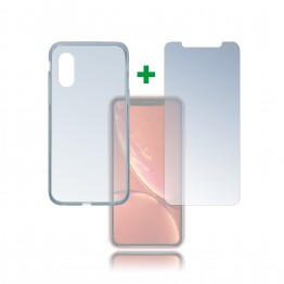 iPhone XR Pack 4Smarts PROTECTION360 Transparent