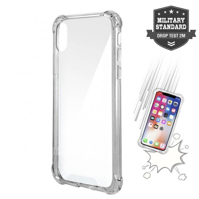 coque iphone xr transparente coin renforce qualite