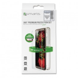 Galaxy N9 Pack 4Smarts PROTECTION360 FULL Transparent