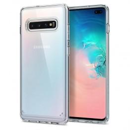 Galaxy S10+ Coque Spigen ULTRAHYBRID Transparent
