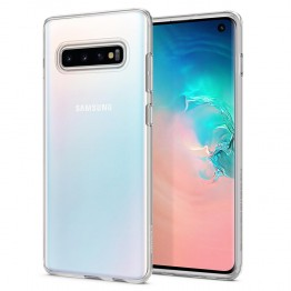 Galaxy S10 Coque Spigen LIQUIDCRYSTAL Transparent
