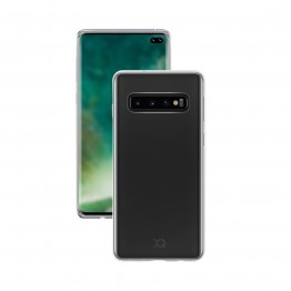Galaxy S10+ Coque Silicone Xqisit FLEXCASE Transparent