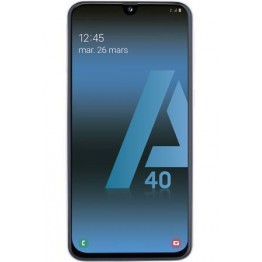 Galaxy A40 RECTO MATTE Film Silicone Mobile Outfitters Clear Coat