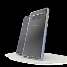 Galaxy S10+ Coque Gear4 D3O PICCADILLY Bleu