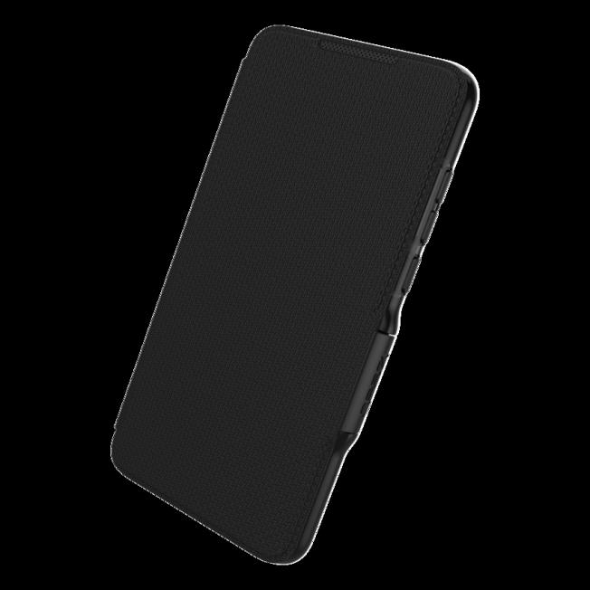 Huawei P30 Etui Wallet Gear4 D3O OXFORD Noir